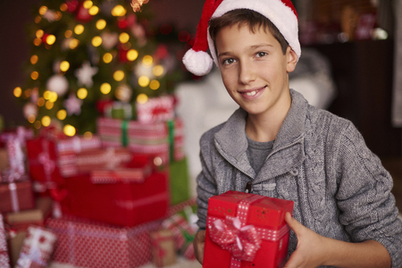 especially: All of these gifts are especially for me Stock Photo