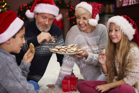 holiday of food: The gingerbread taste the best in christmas time