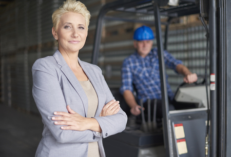 our company: Our company work perfect Stock Photo