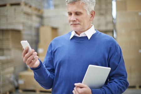 warehouses: New boss in the company means better results