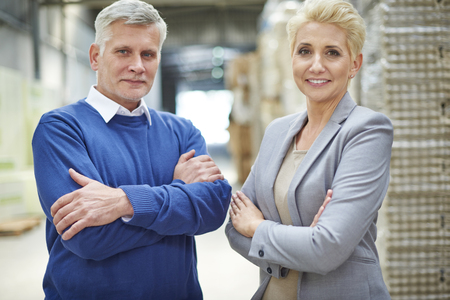 mature man: We know what it the most important in business