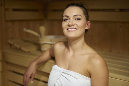 sauna nackt: Sauna ist mein Lieblings-Freizeitbeschäftigung