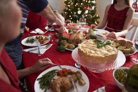 comida de navidad: Todos los a�os la tradici�n durante la v�spera de Navidad