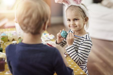 osterei: My egg will be the best Lizenzfreie Bilder