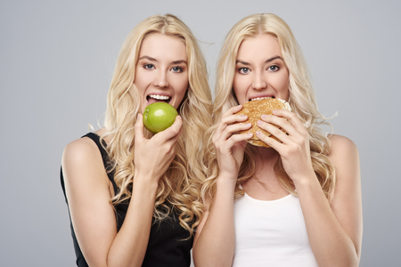 hair and beauty: Each girl has different diet