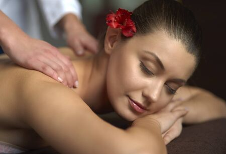 relaxation massage: Very calming and relaxing shoulder massage
