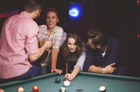 party friends: Cheerful while meeting with friends