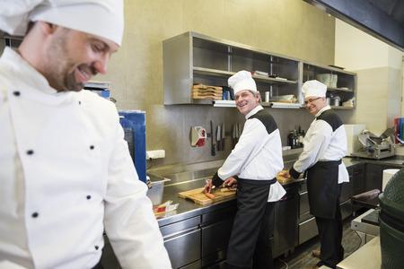 chit: Chit chatting while preparing food