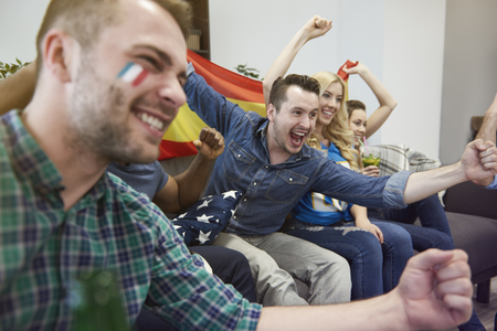 euphoria: Euphoria among biggest soccer fans