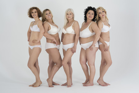 woman naked body: Proud to be natural woman