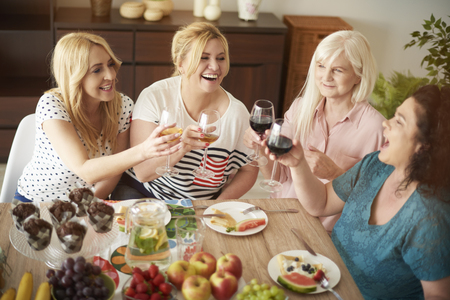 women friendship: Happy to meet again after some time