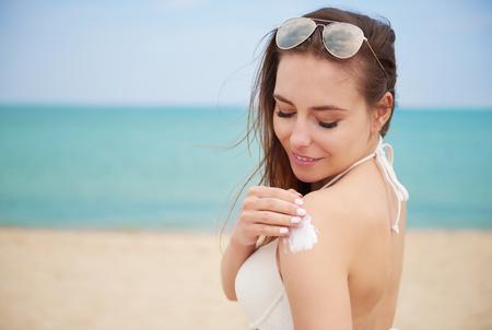 sunburned: Arms can be easily sunburned