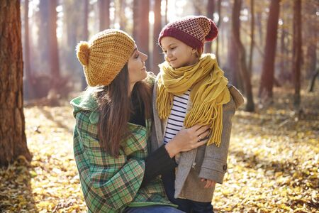 warm clothing: You are the best mom!
