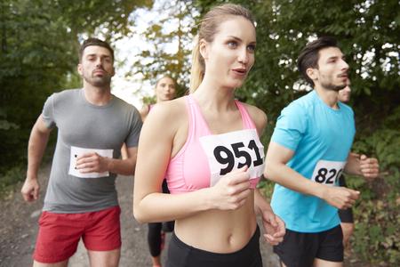 rival rivals rivalry season: Deep breaths during the marathon