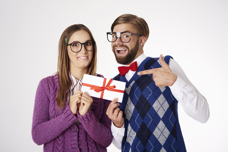 funny glasses: Amazing small gift in paper envelope