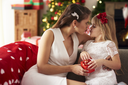 priceless: Mother spending priceless time with daughter Stock Photo