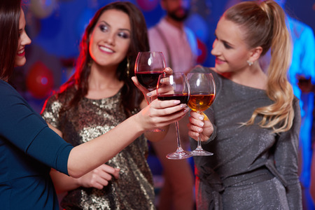 Women having a toast to further successes