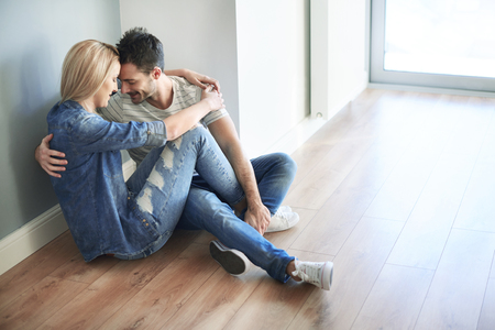 Couple already moved into the new house