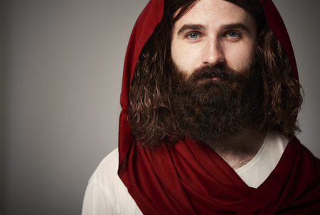 Praised be our Jesus Christ Stock Photo
