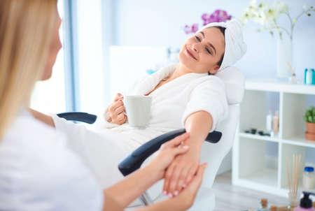 happier: Visits at the spa always make a happier