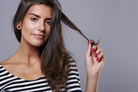Healthy hair thanks to very healthy diet photo