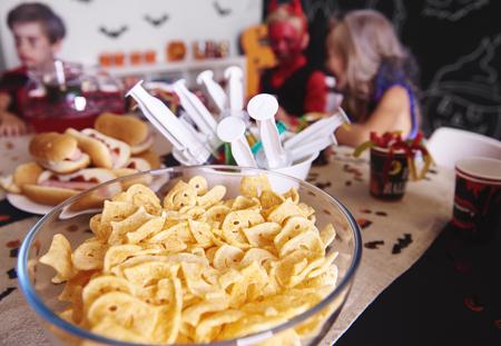 Cierre de snack de Halloween Foto de archivo - 85766242
