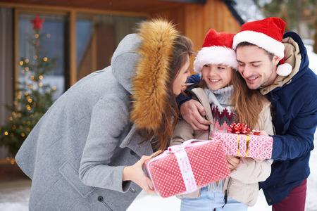 크리스마스 시간의 가장 중요한 부분 스톡 콘텐츠