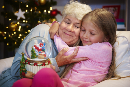 My grandmother always know how to console me Stock Photo - 86740861