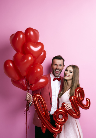 We taking part in valentine's party Imagens - 89280373