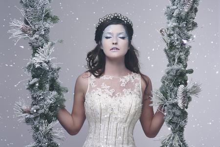 ウィントリー風景の氷の女王
