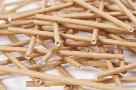 Bambus-Strohhalme als Alternative zu Einweg-Kunststoff-Strohhalmen