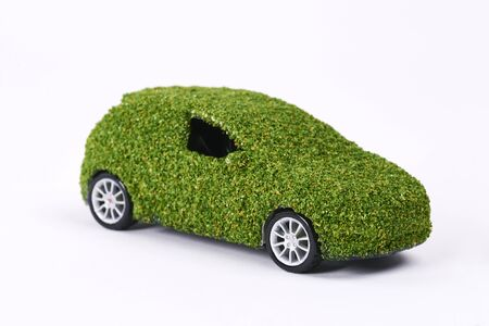 Concept of eco friendly car Stok Fotoğraf