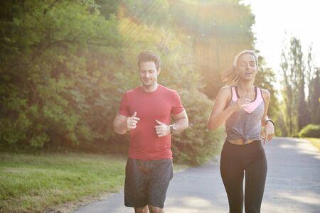 Having a partner make running is easier