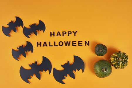 Spooky halloween background with wishes