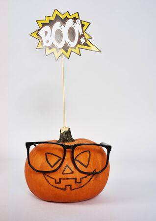 Spooky jack o' lantern for  Halloween