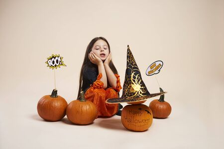 October is the time of Halloween party Stock Photo