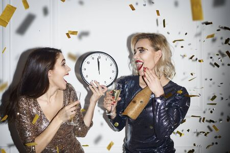 Friends are full of anticipation for new year