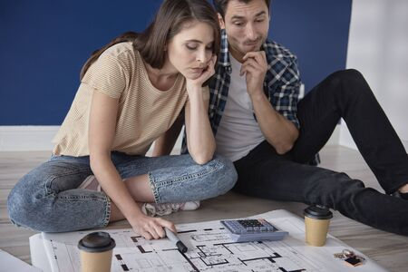 Couple having problem with home project