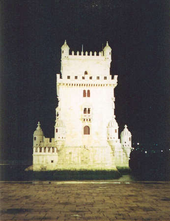 Old tower (Lisbon, Portugal) 版權商用圖片 - 1424816
