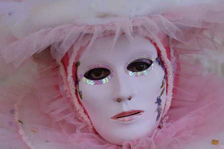 Masken in Venedig der Karneval