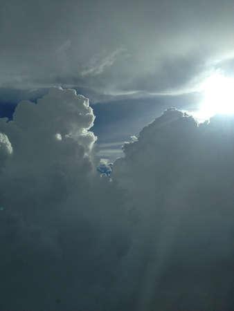 towering: Elev�ndose nube en Bangkok