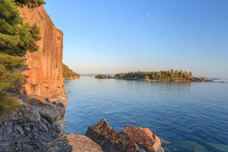 superior: Agawa Rocks by the Lake Superior