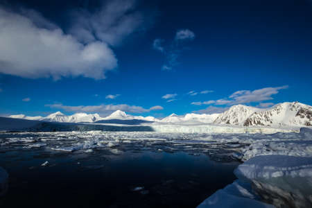 arctic: Arctic winter in south Spitsbergen