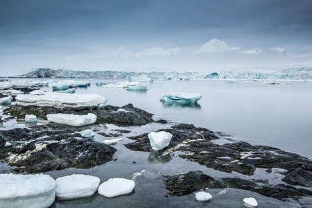 spitsbergen: Arctic spring in south Spitsbergen
