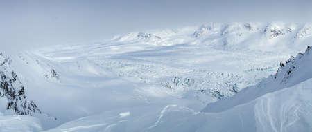 spitsbergen: Arctic winter in south Spitsbergen