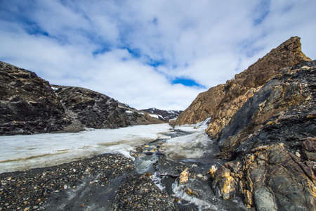 rhodium: Arctic spring in the south of Spitsbergen