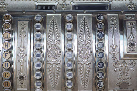 Vintage cash register photo