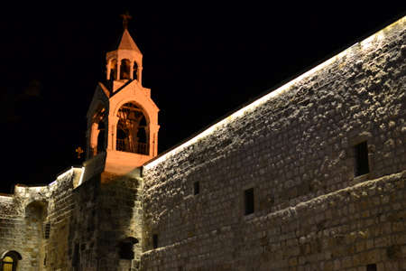 Nativity church at Christmas eve in Bethlehem, West bank, Palestine, Israel