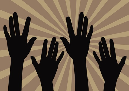 alabando a dios: ¡Alabado sea el Señor Vectores