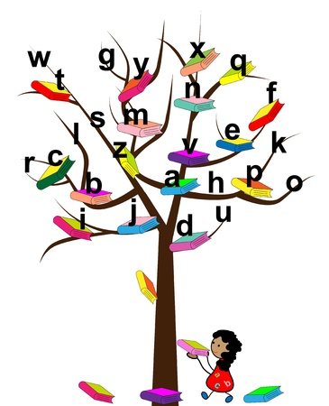 learning materials: Tree of Knowledge Illustration